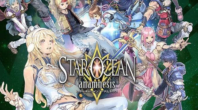 'Star Ocean: Anamnesis' llegará en julio a Occidente para iOS y Android