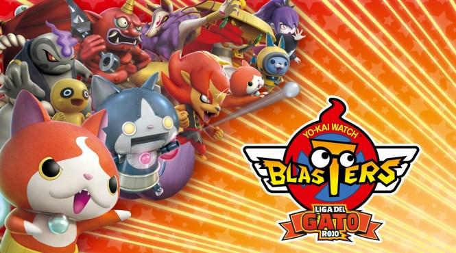 'Yo-Kai Watch Blasters' estará disponible este viernes para 3DS