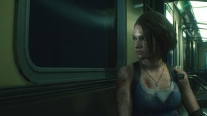 RE3 Jill Subway
