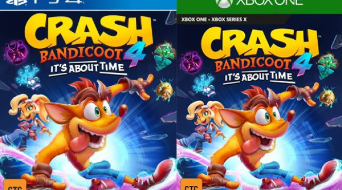 'Crash Bandicoot 4: It's About Time' listado en Taiwan para PS4 y XBO