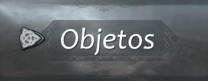 menu objetos