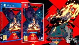 Anunciado Streets of Rage 4 Anniversary Edition para PS4 y Switch