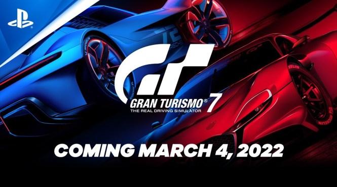 Gran Turismo 7 se lanzará el 4 de marzo de 2022