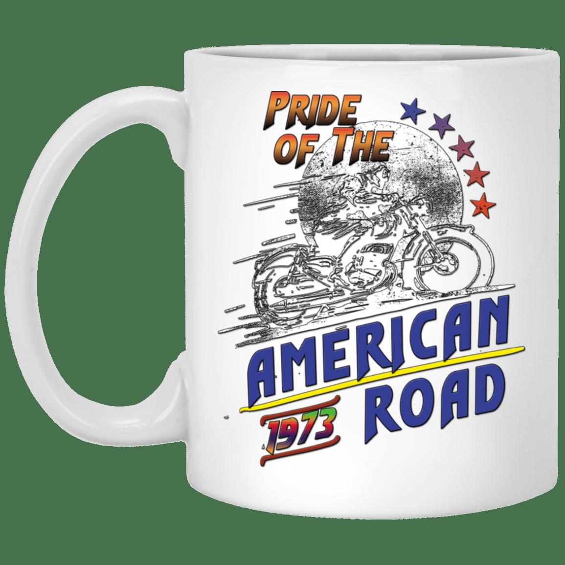 Pride of The American Road White Mug 11 oz.