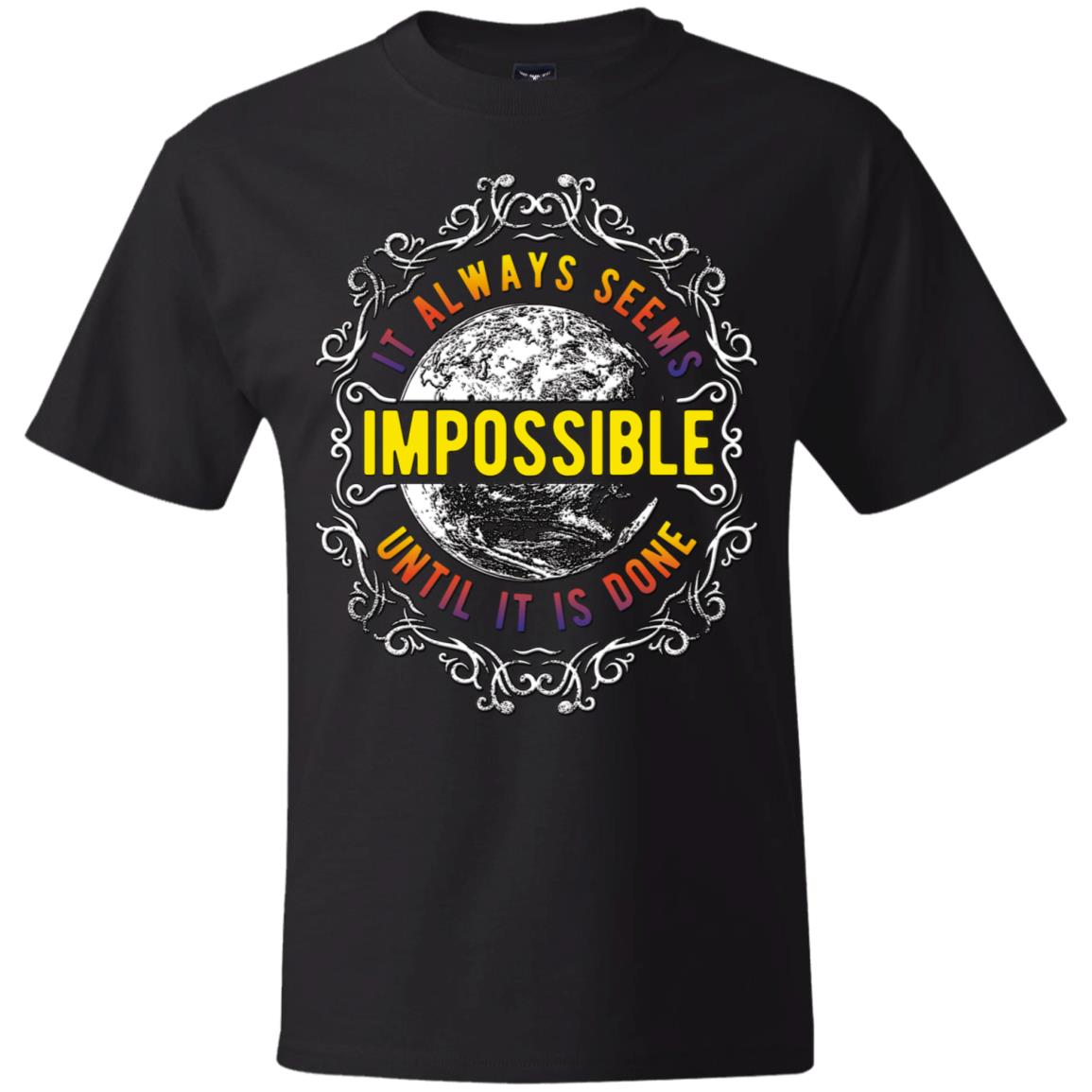 Always Seems Hanes Beefy T-Shirt