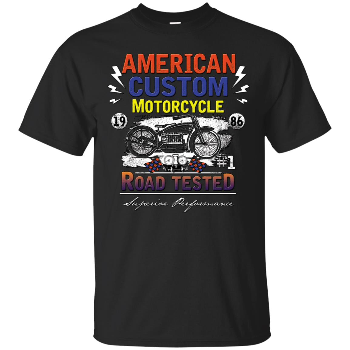 American Custom Motorcycle Ultra Cotton T-Shirt