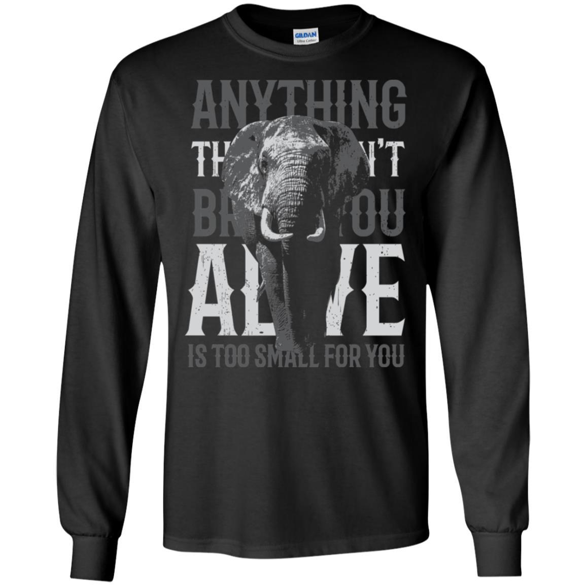 Alive Gildan LS Ultra Cotton T-Shirt