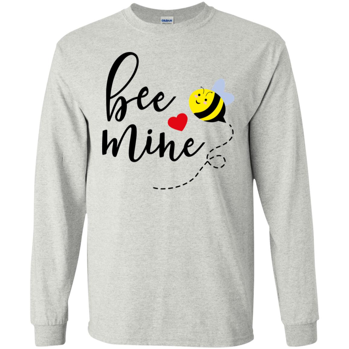 Bee Mine Gildan LS Ultra Cotton T-Shirt