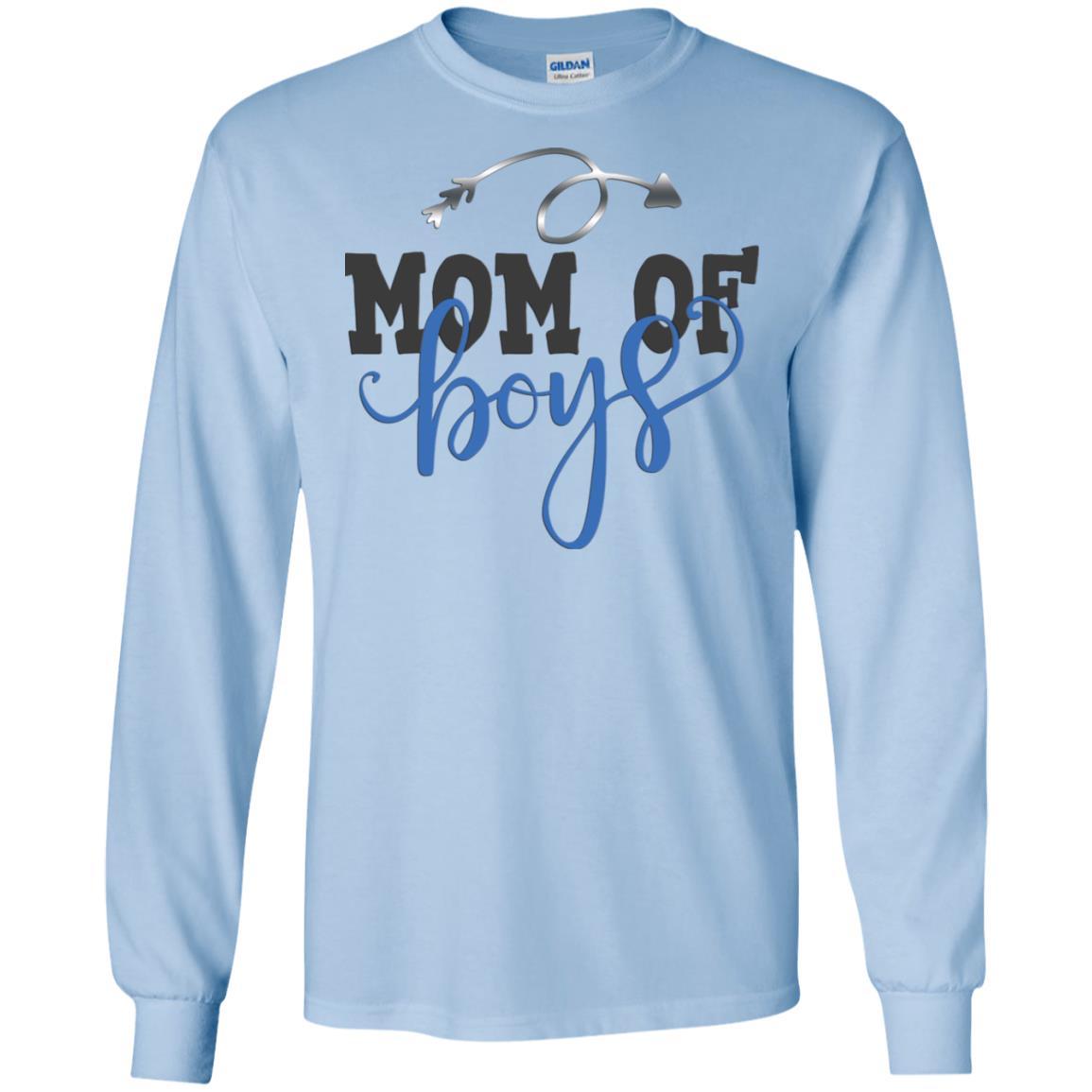 Mom Of Boys Cotton T-Shirt