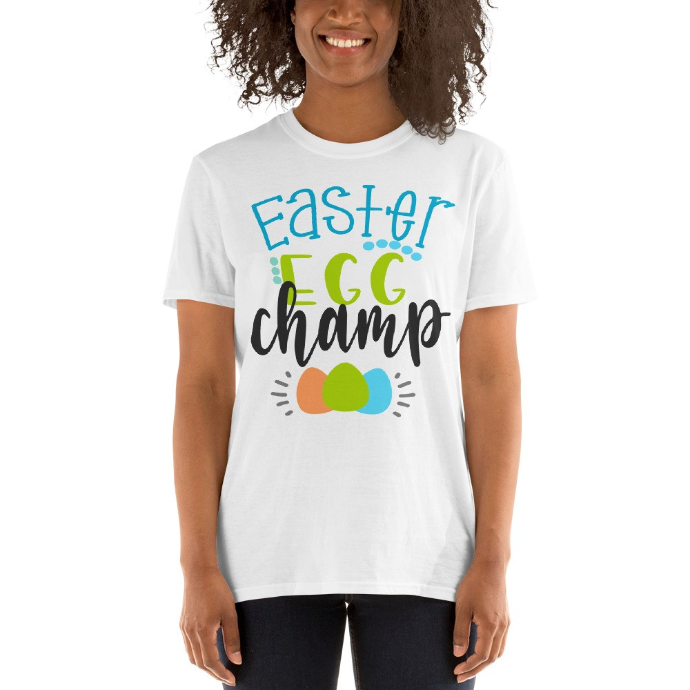 Easter - Easter Egg Champ Short-Sleeve Unisex T-Shirt