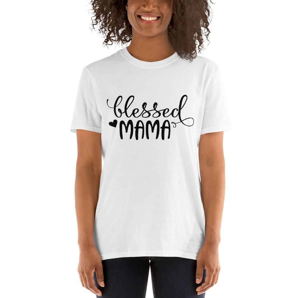 Blessed Mama Short-Sleeve Unisex T-Shirt