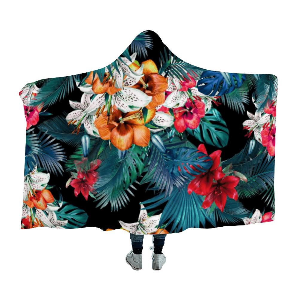 Garden of Eden Hooded Blanket