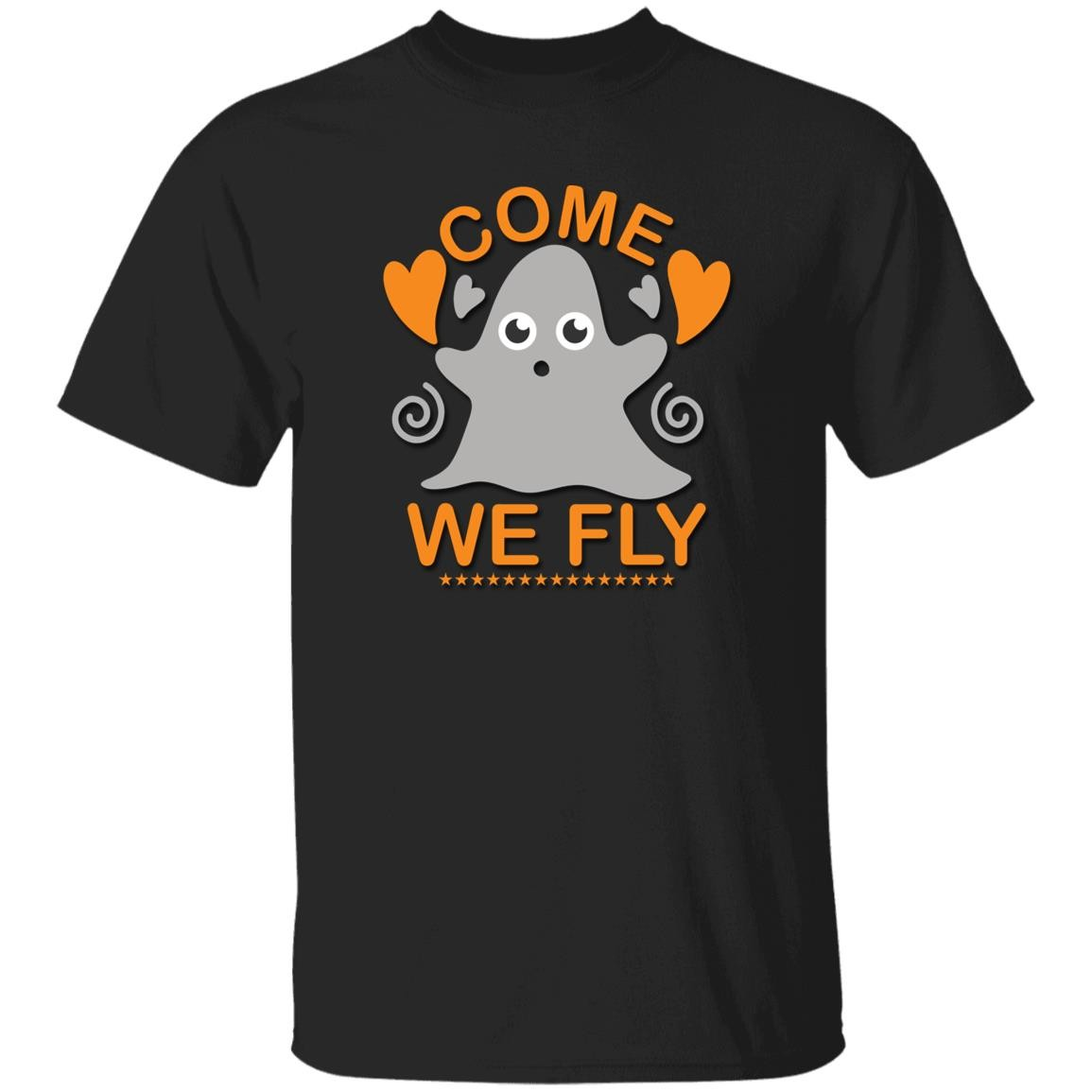 Come We Fly Ghost Unisex T-Shirt