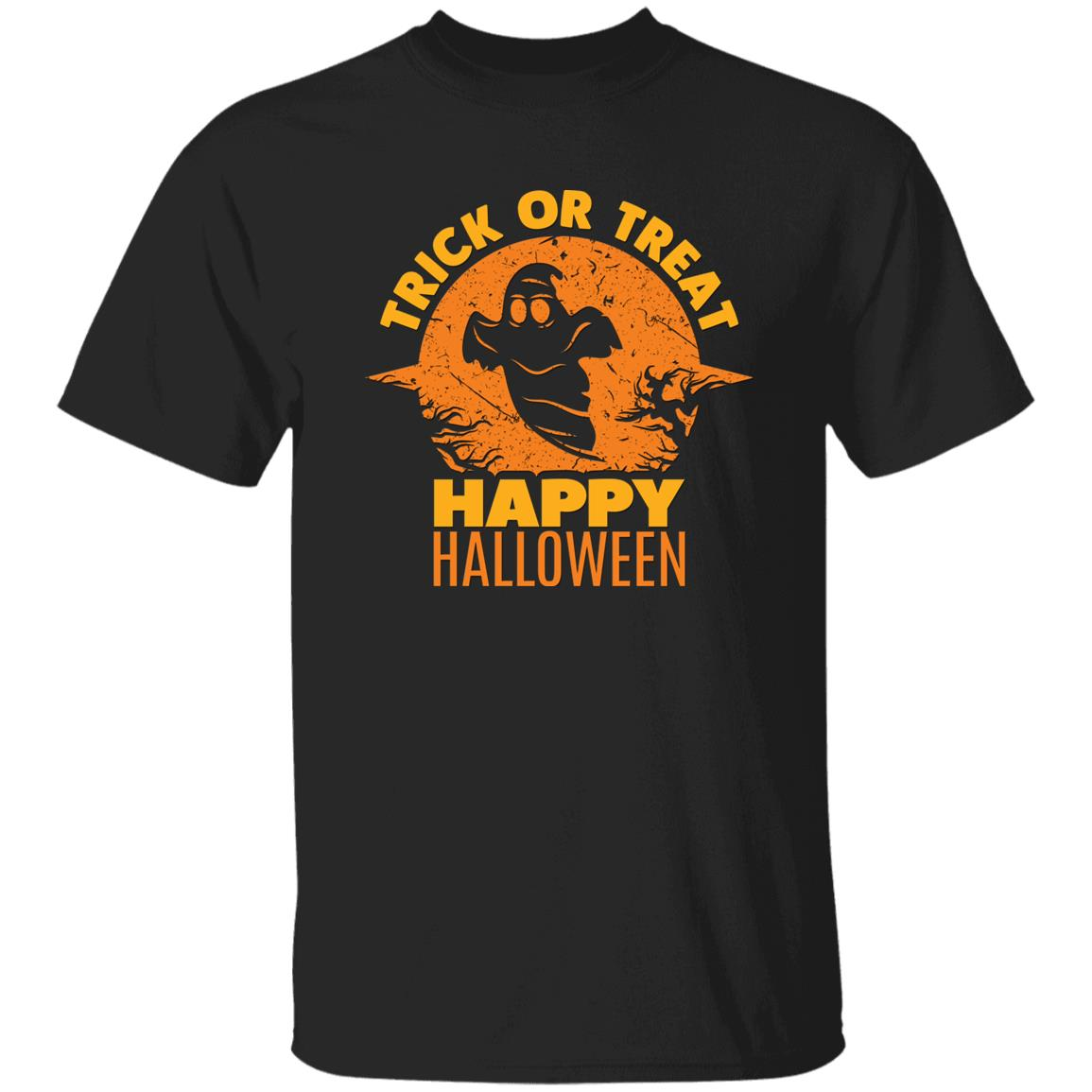 Trick Or Treat Ghost Unisex T-Shirt