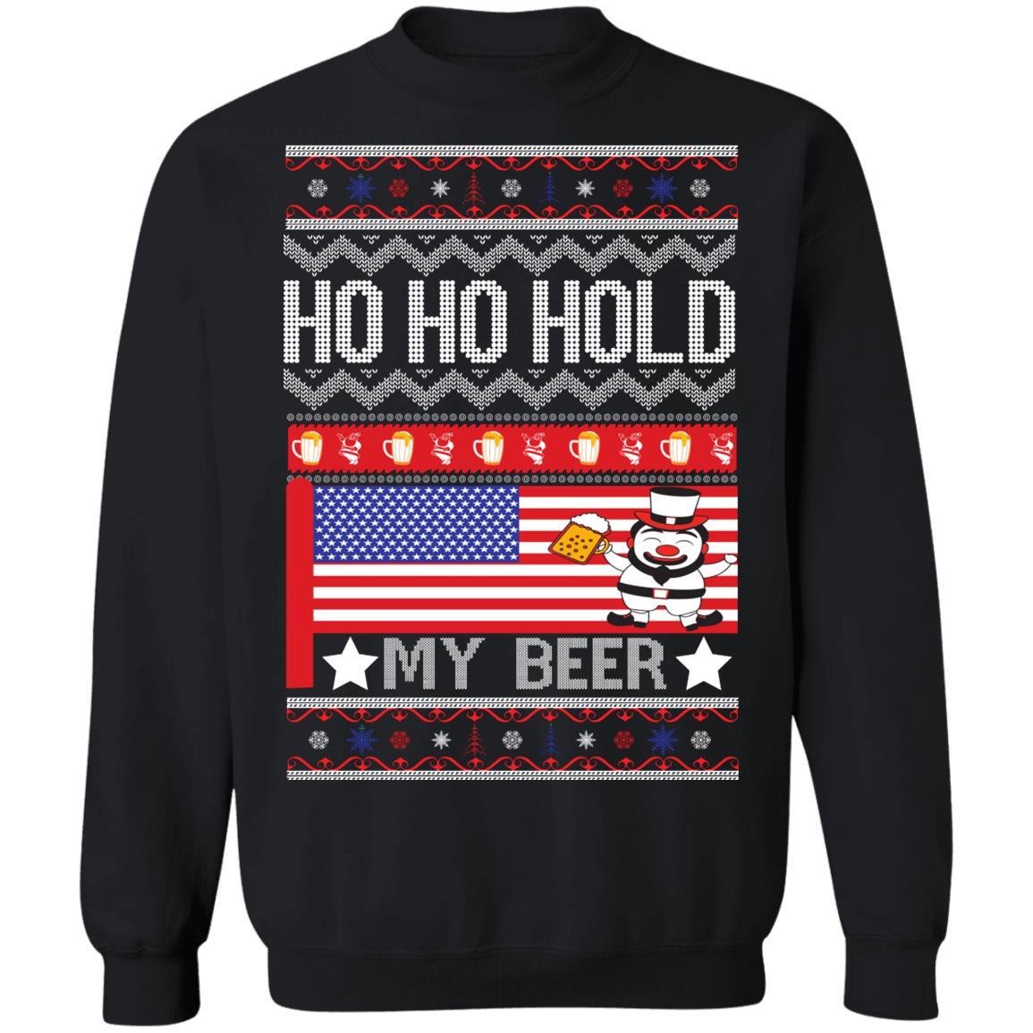 Hold My Beer Crewneck Sweatshirt