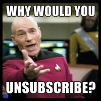 Declutter your Digital Life - Why I'm hitting 'Unsubscribe'.