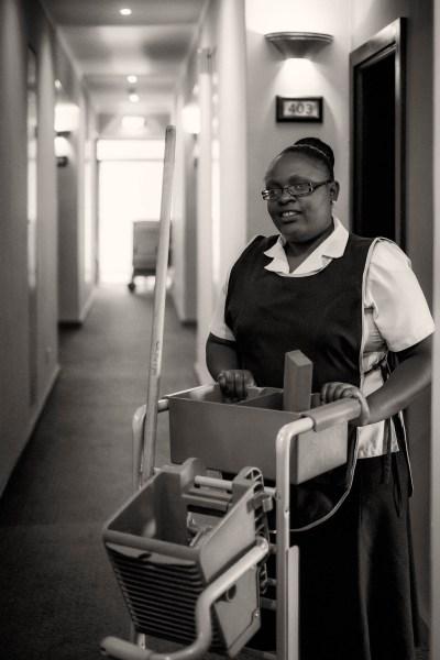 Zimbabwe, hotelpersoneel