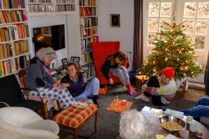 familie, kerst 2019