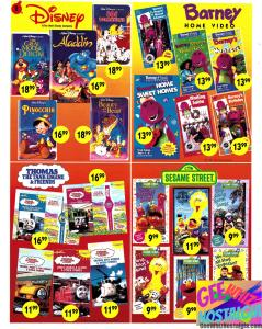 toys r us toy catalog christmas 1993