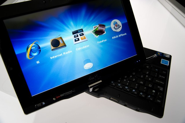 Asus T101 Touch Interface