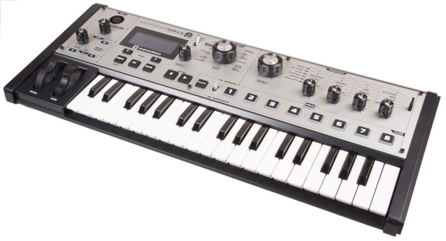 The Novation MoroderNova, 2015 limited edition MiniNova