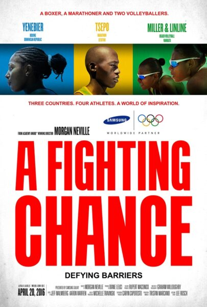 """Geezam - Samsung and Morgan Neville's """"A Fighting Chance"""" at 2016 Tribeca Film Festival - 05-05-2016 LHDEER"""