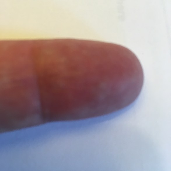 Geezer's middle finger