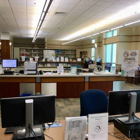 GENEALOGY CENTER, LARGO, FL LIBRARY