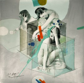 Woman in Glass Boxes 21