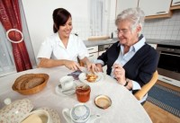 in home assisted living caregiver