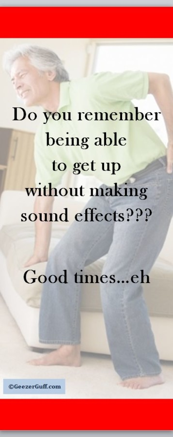 Remember getting up with no sound effects?