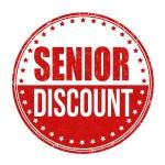 Senior discount sign