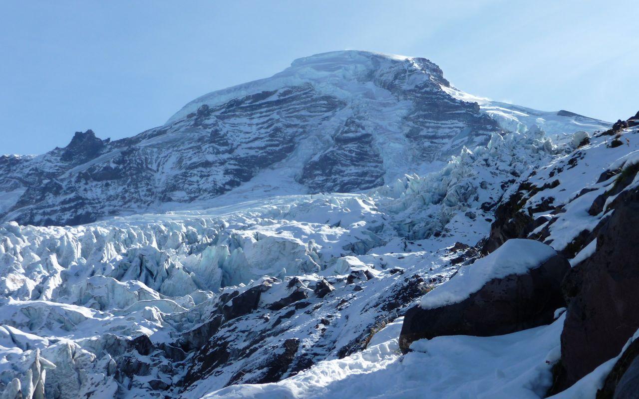 Mount Baker over Coleman Galcier