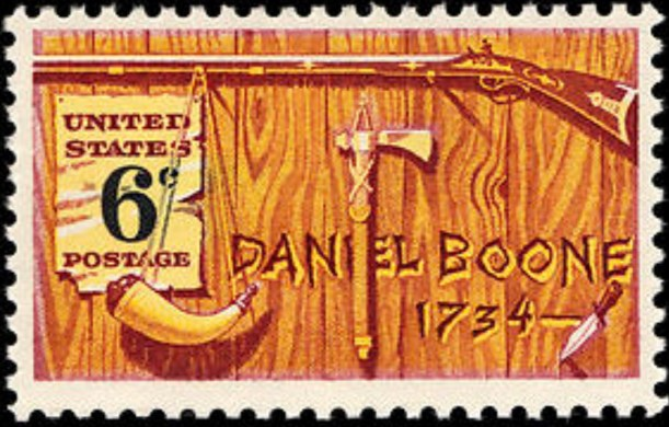 1968-Daniel-Boone-US-Postage-Stamp
