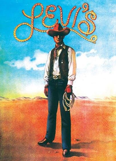 "1971, ""Cowboy,"" Artist: Charles White III, Lettering: Tony Naganuma"