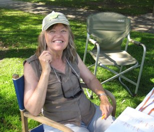 Ann Thompsonat the Picnic