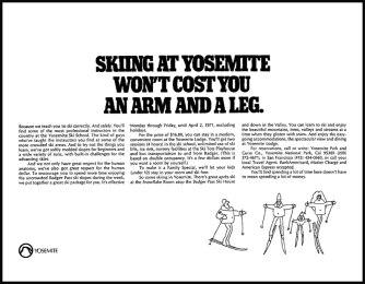 Skiing at Yosemite
