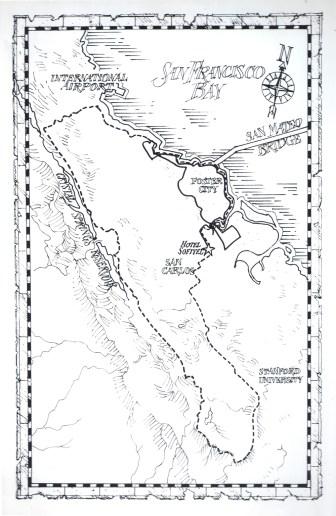 ALA Cycle Tour Map