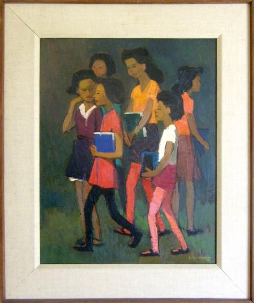 Schoolgirls, L. Macoullard