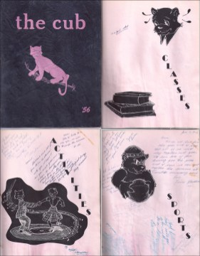 Jr. High Yearbook 1956