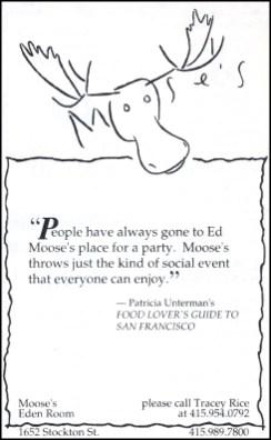 Schumaker 1990s Mooses Ad