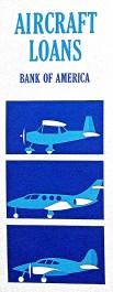 9 Bank of America Air Craft loans