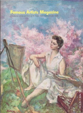 Famous Artists' Magazine cover