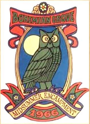 3B. Bruce Butte, Bill Hyde Bohemian Grove 1966