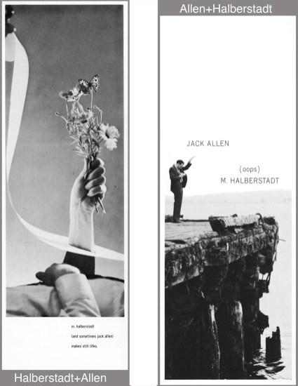 Jack Allen, M. Halberstadt Promo Ad