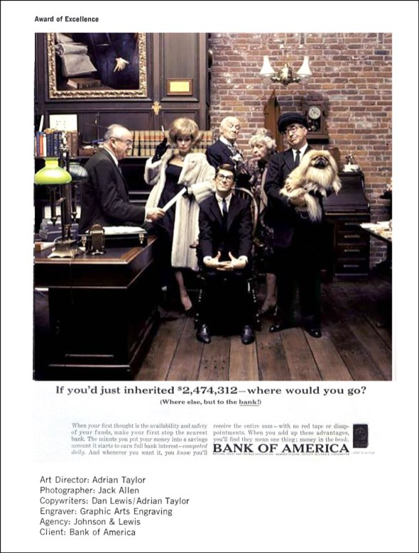 Jack Allen Bank of America Ad