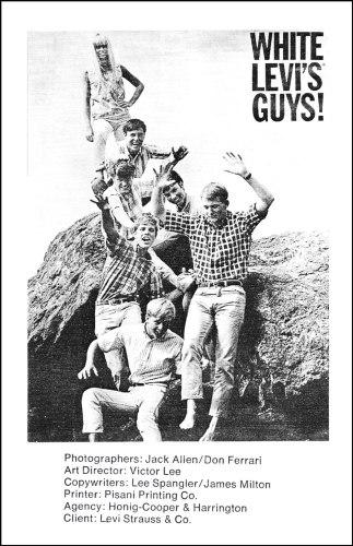 Levi's Guts Client 1966