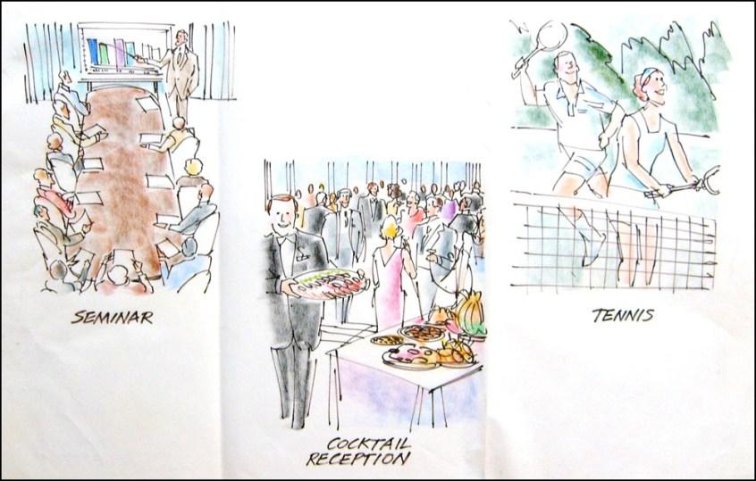 SeminarCocktail-Reception-Tennis