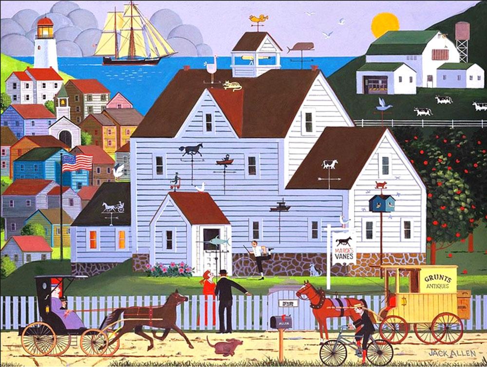 Marge's Vane Puzzle