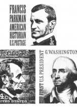 Three-US-Postage-Stamps